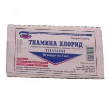 Buy Thiamine ampoules 5%, 1 ml, 10 pcs