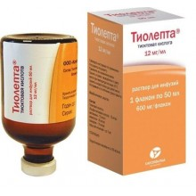Buy Tiolepta solution 12mg/ml 50 ml 10 pcs