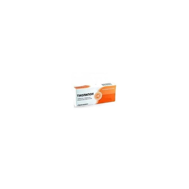 Buy Thiolipon pills 600 mg 30 pcs
