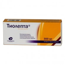Buy Tiolepta pills 300 mg 30 pcs 30 pcs