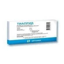 Buy Tiapride ampoules 5%, 2 ml, 10 pcs