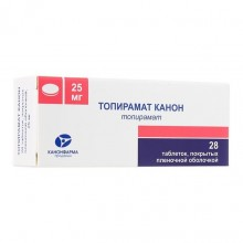 Buy Topiramate pills 25 mg 28 pcs