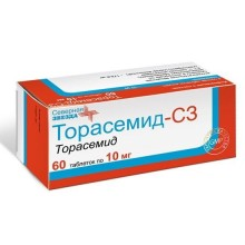 Buy Torasemide-SZ pills 10 mg 60 pcs