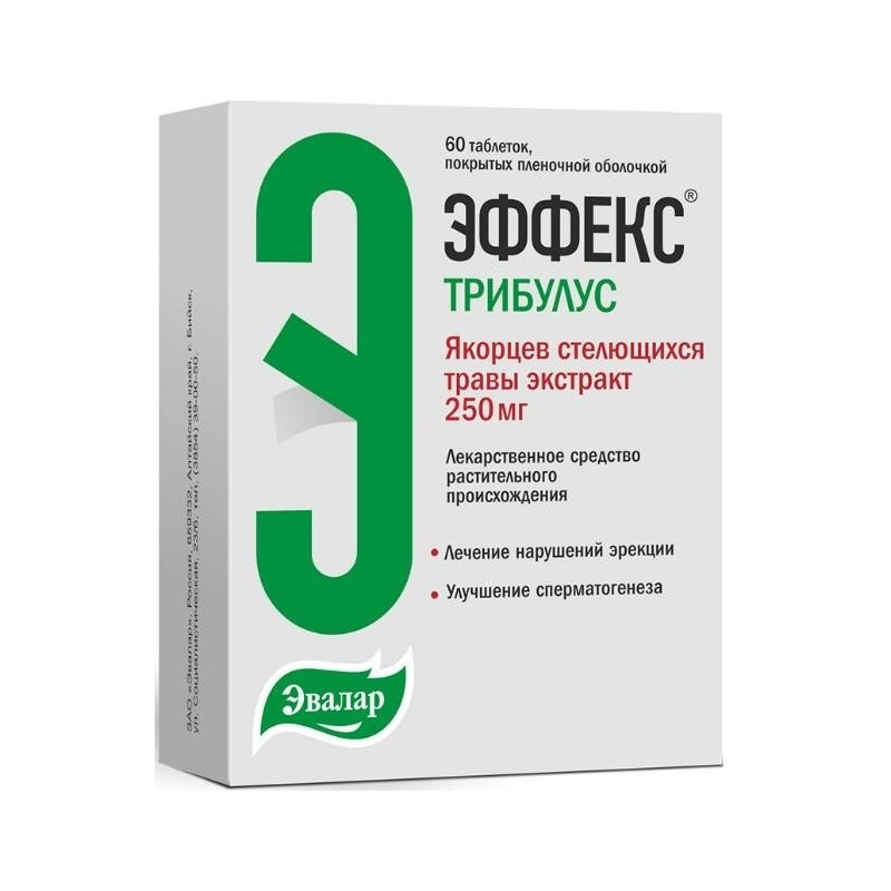 Buy Effex Tribulus pills 250 mg 60 pcs