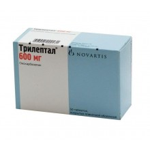 Buy Trileptal pills 600 mg, 50 pcs