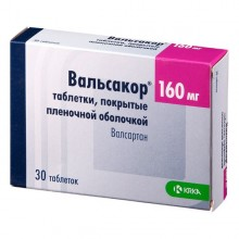 Buy Valsacor pills 160 mg, 30 pcs