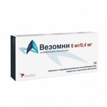 Buy Vesomni pills 6 mg + 0.4 mg 30 pcs packaging