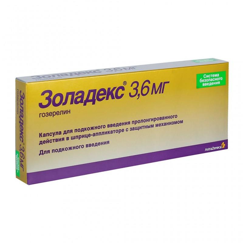 Buy Zoladex syringe 3.6mg syringe applicator