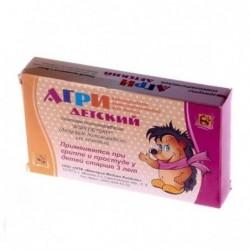 Buy Agri (Homeopathic Antigrippine) pills 40 pcs