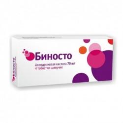 Buy Binosto effervescent pills 70 mg 4 pcs
