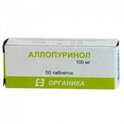 Buy Allopurinol pills 100 mg, 50 pcs
