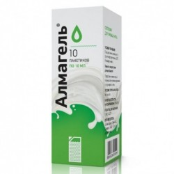Buy Almagel gel 10 ml sachets 10 pcs