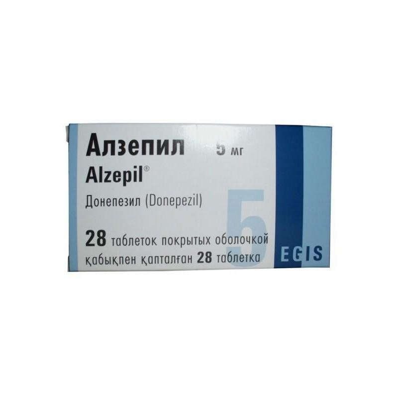 Buy Alzepil pills 5 mg 28 pcs