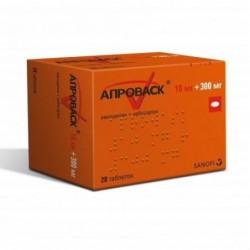 Buy Aprovasc pills 10 mg + 300 mg 28 pcs packaging