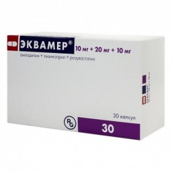 Buy Equamer capsules 10 mg + 20 mg + 10 mg 30 pcs Package