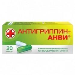 Buy Antigrippine-ANVI capsules 20 pcs