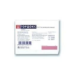 Buy Gordox ampoules 100,000 KIE, 10 ml, 25 pcs