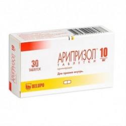 Buy Ariprisole pills 10 mg 30 pcs