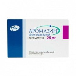 Buy Aromasin® pills 25 mg 30 pcs