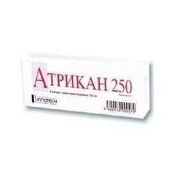 Buy Atrican 250 capsules 250 mg, 8 pcs