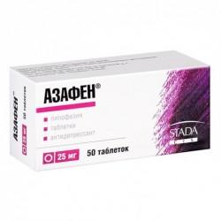 Buy Azafen pills 25 mg, 50 pcs