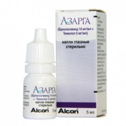 Buy Azarga eye drops 5 ml