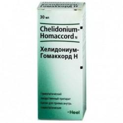 Buy Chelidonium Homaccord heel drops 30 ml